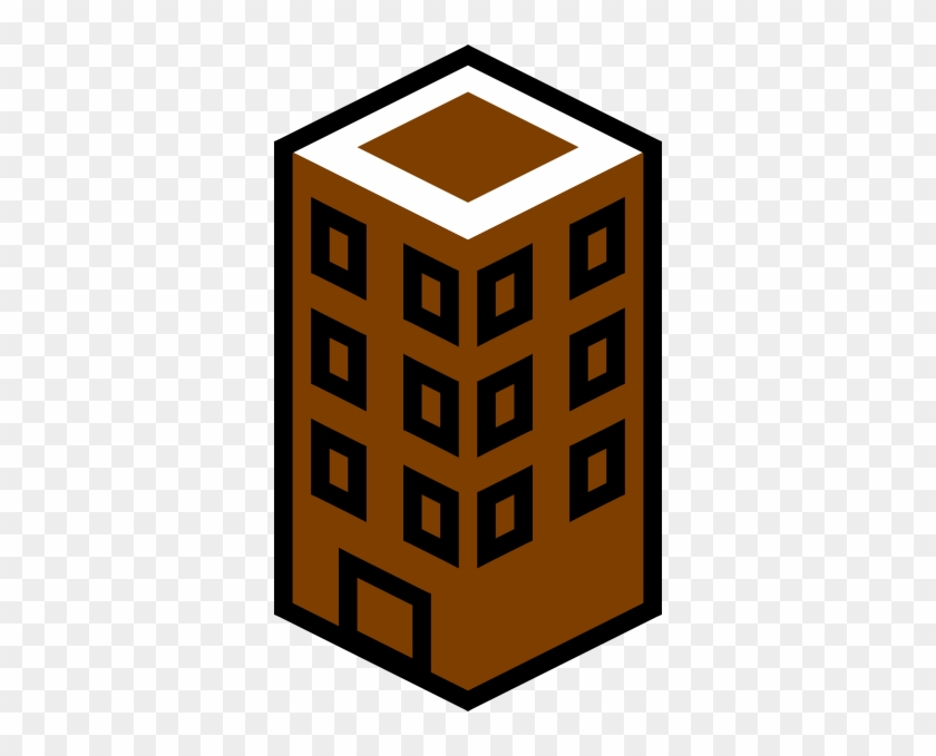 Brown Building Clip Art - Commercial Roofing Icon #18714