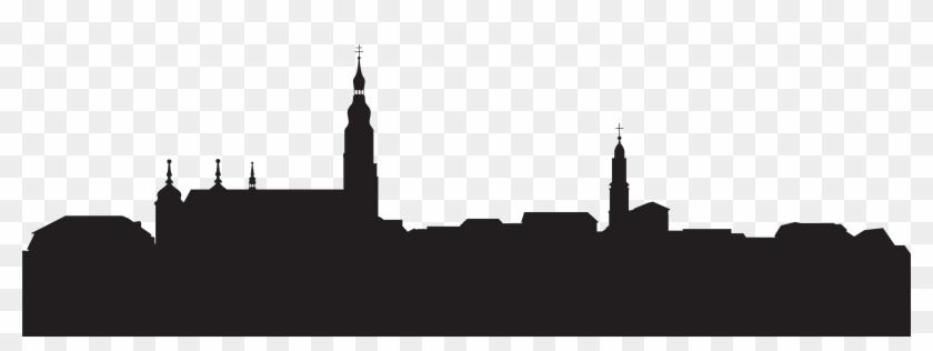 City Buildings Silhouette Png Clip Artu200b Gallery - Transparent Background Silhouette City Clipart #18747