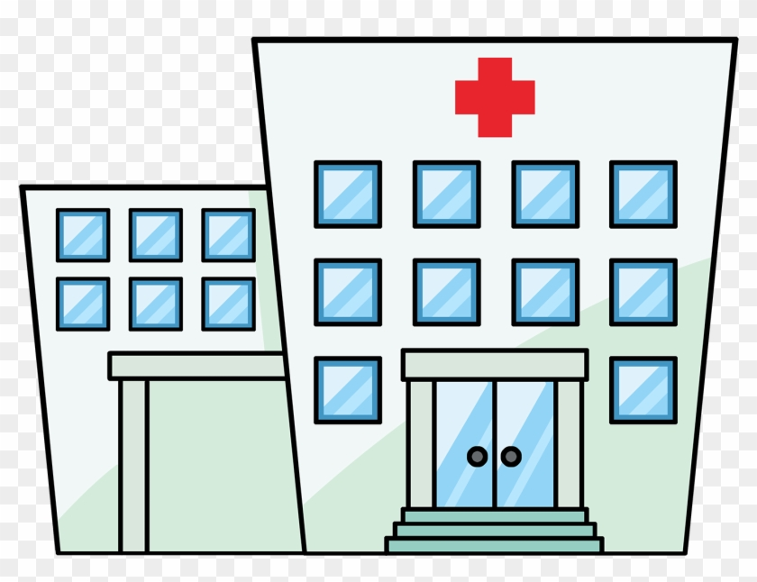 Hospital - Doctors Office Clipart #18744