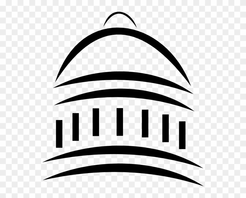 Clip Art Government Building Clipart - Capital Clipart #18761