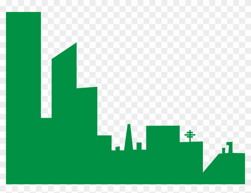 Citybackdrop Free Images - Building Vector Green Png #18788