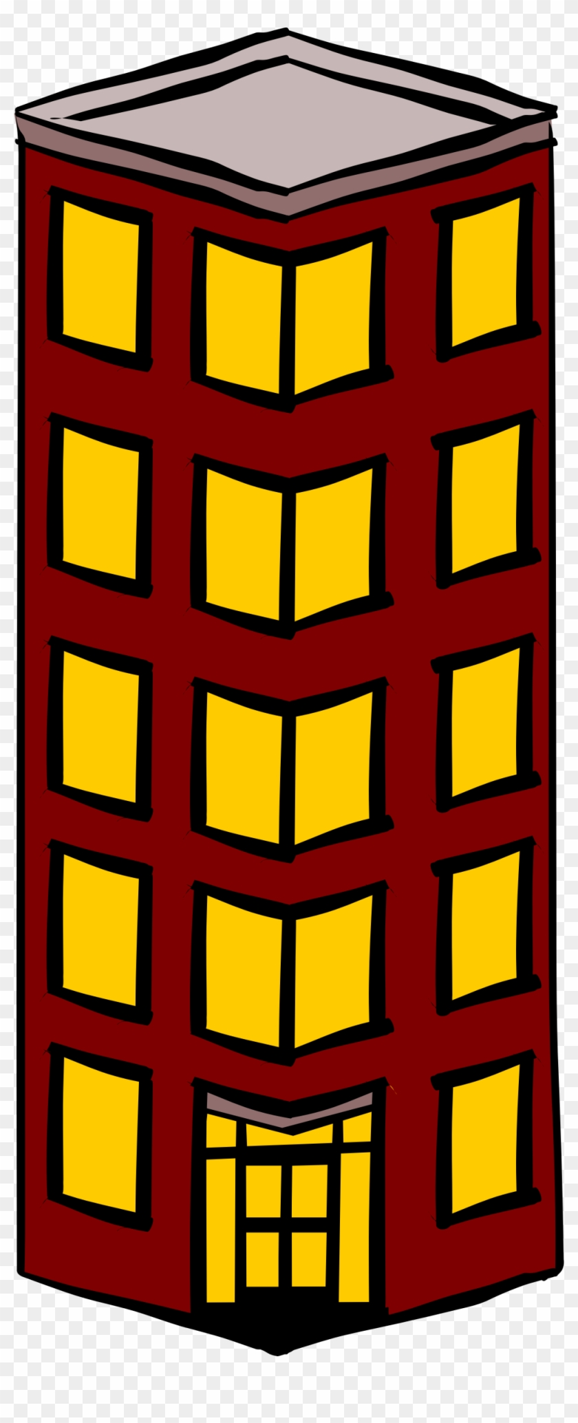 Towers Clipart High Building - Flat Clipart #18802