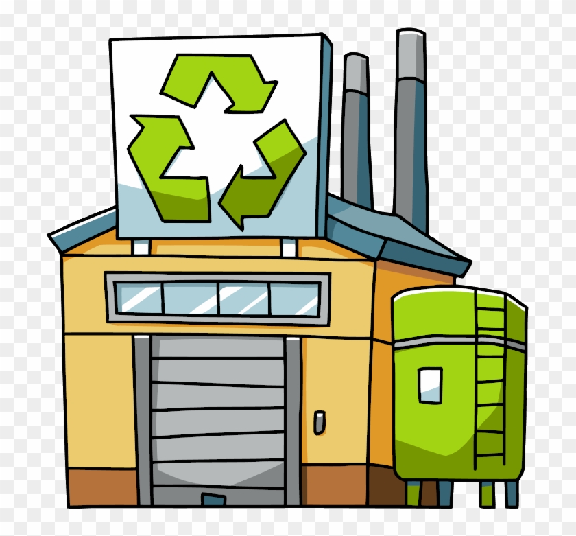 Recycling Plant - Scribblenauts Wiki - Recycling Plant Clipart #18811