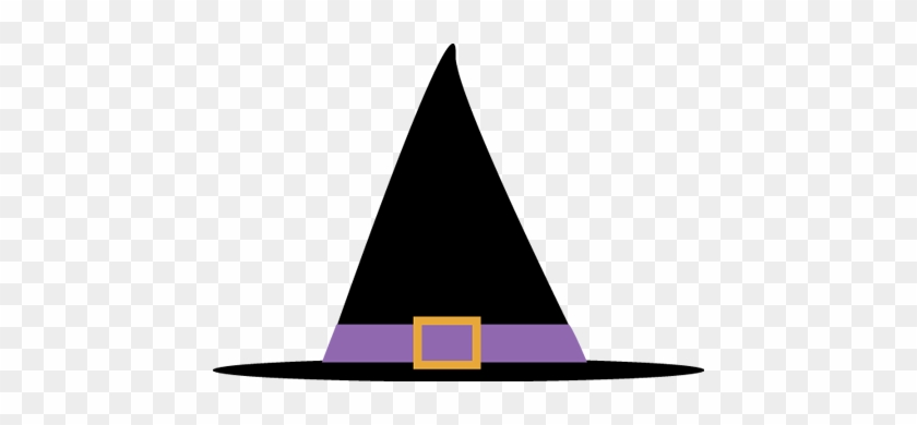 Witches Hat Halloween Clip Art - Clip Art Witch Hat #18832