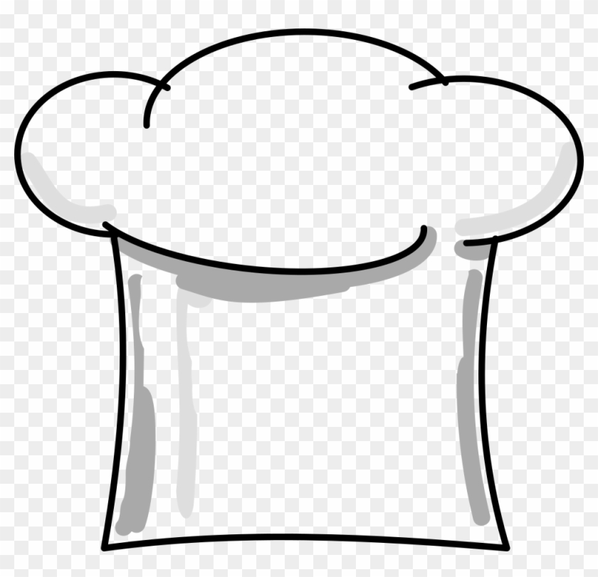 Chef Hat - Hat Chef Clipart Png #18836