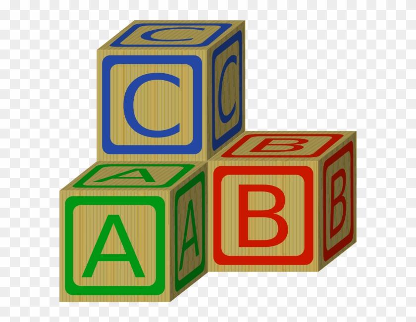 Abc Blocks Clip Art At Clker Com Vector Clip Art Online - Block Clipart #18847