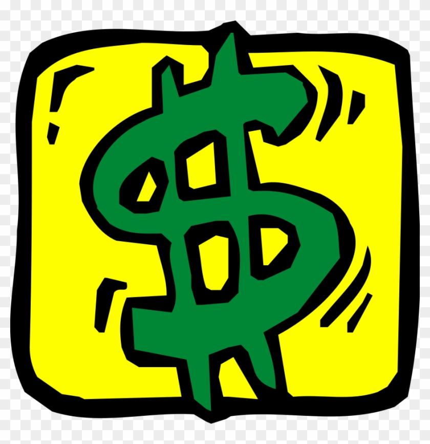 Money Design 06 Clipart, Vector Clip Art Online, Royalty - Clip Art Dollar Sign #18850