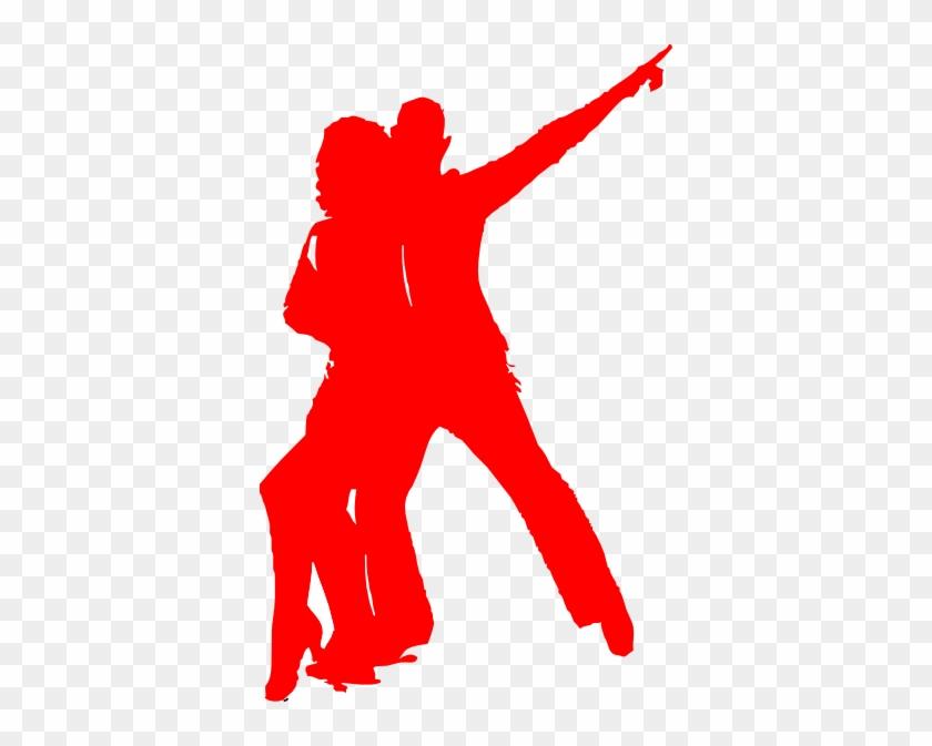Tango Couples Clip Art - Dancing Retro Png #18868