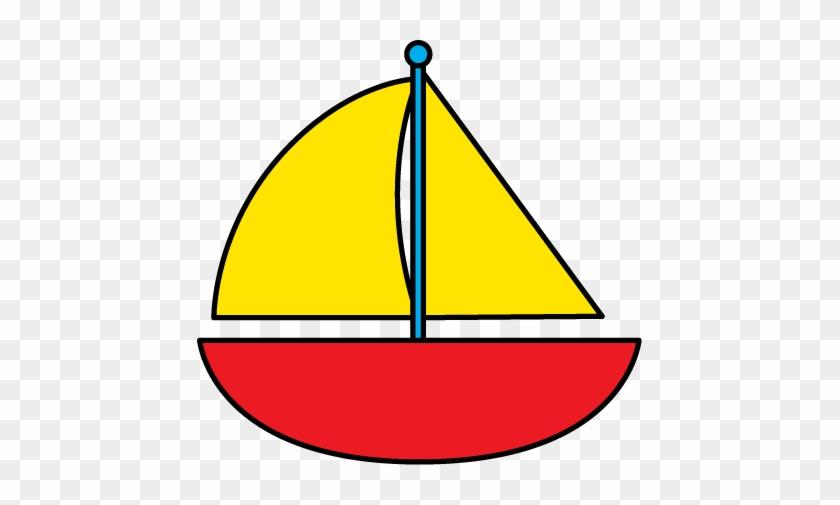 Sailboat Clip Art Of Boat Clipart 4 Wikiclipart Clipartandscrap - Green Boat Clipart #18871