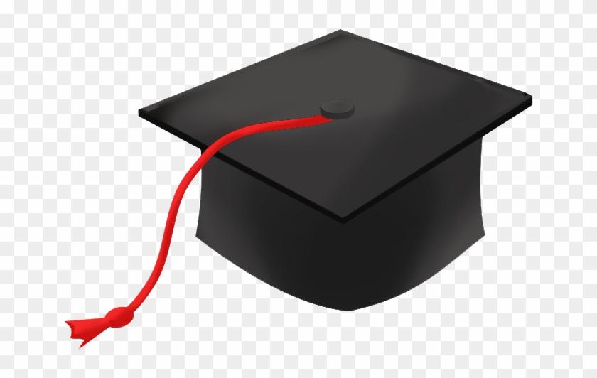 Graduation Hat Free Clip Art Of A Graduation Cap Clipart - Graduation Clipart Png #18884