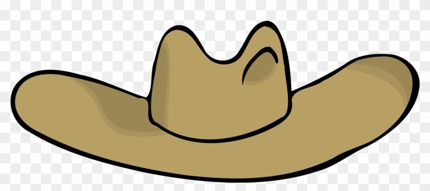 Cowboy Hat Clipart - Cartoon Cowboy Hat Transparent #18889