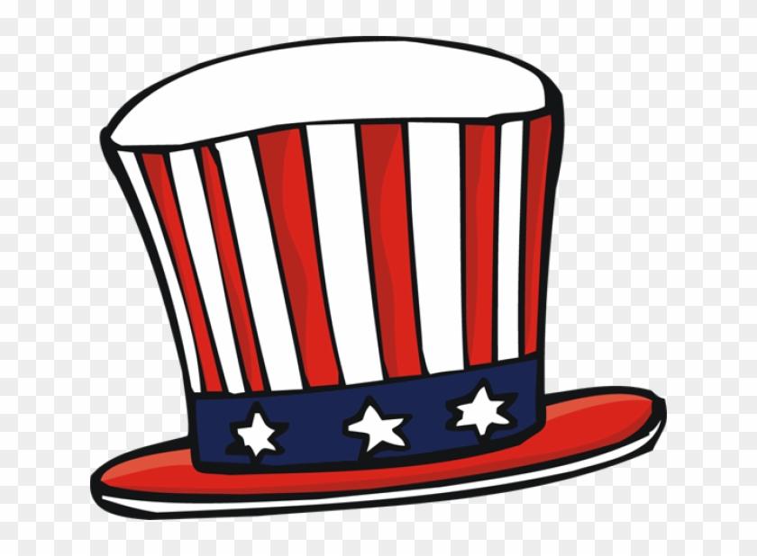 American Hat Clipart - Uncle Sam Hat Clip Art #18906