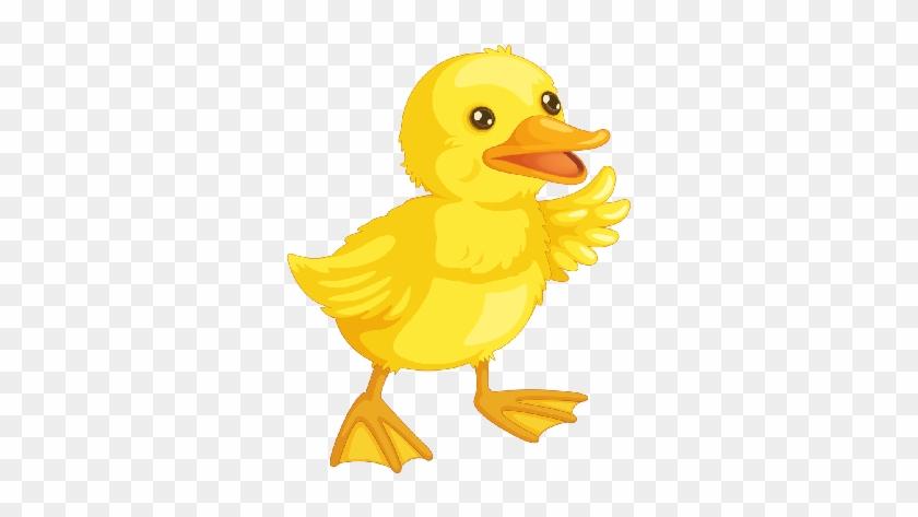 Cute Cartoon Baby Duck Clipart - Ducklings Cartoon #18915