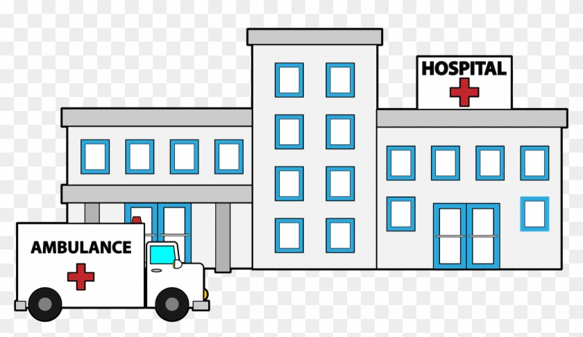 Image Of Hospital Building Clipart 6 Hospital Clip - Clip Art Hospital #18924