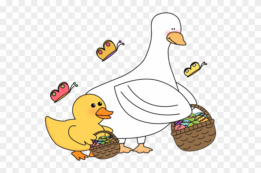 Easter Ducks With Easter Baskets - Easter Duck #18949