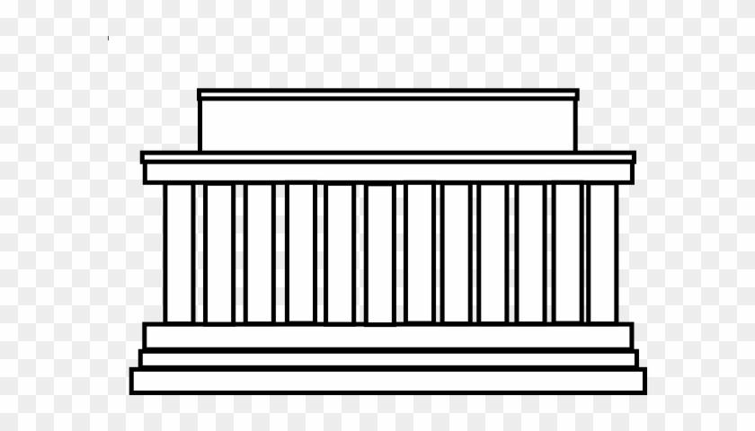 Building Clipart Lincoln Memorial - Building #18985
