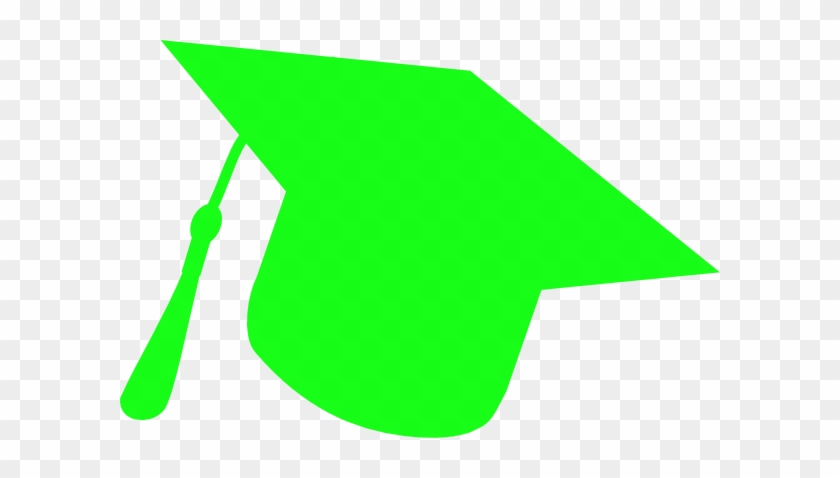 Green Graduation Hat Clipart #19040