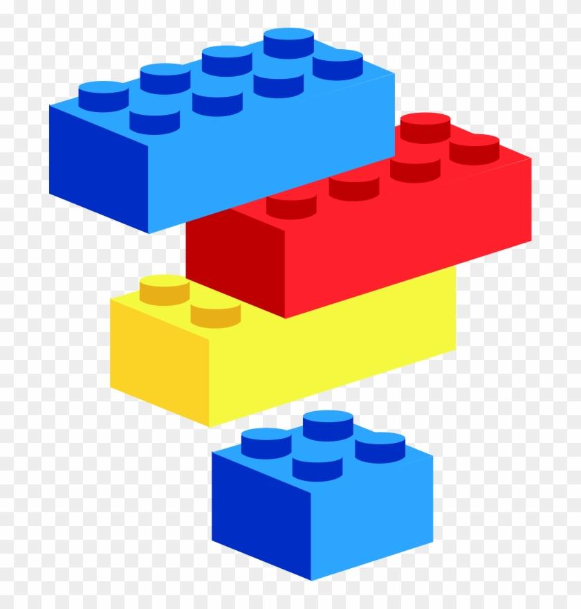 Baby Blocks Clipart - Lego Clipart #19060