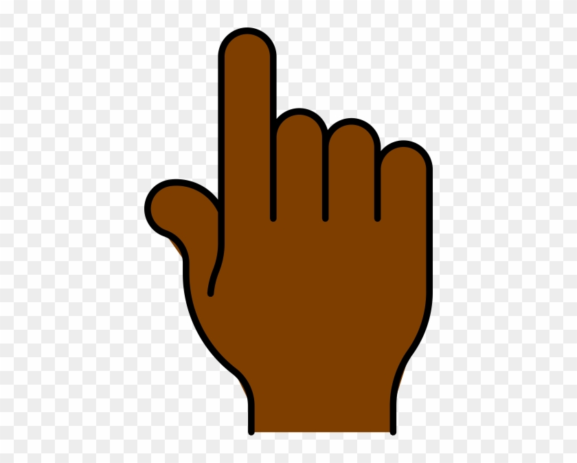 Hand Pointing African Clip Art - Clip Art Hand Pointing #19134