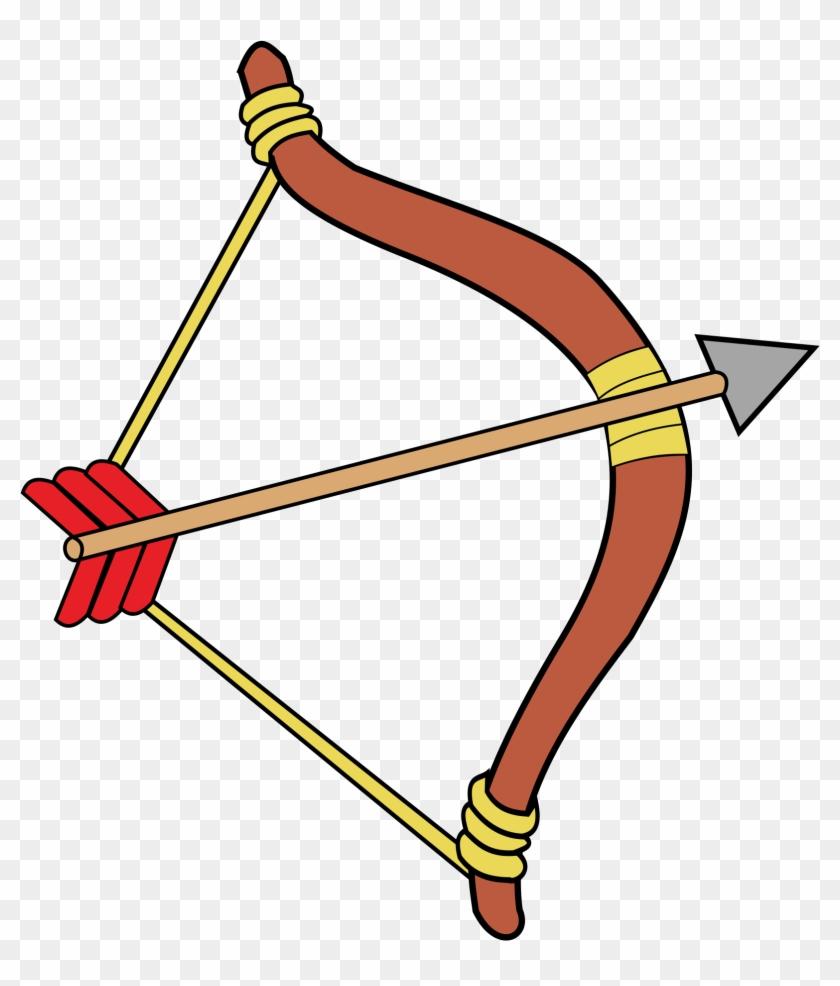 Bow And Arrow Clipart - Bogen Clipart #19139