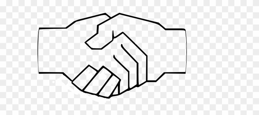 Draw A Hand Shake #19149