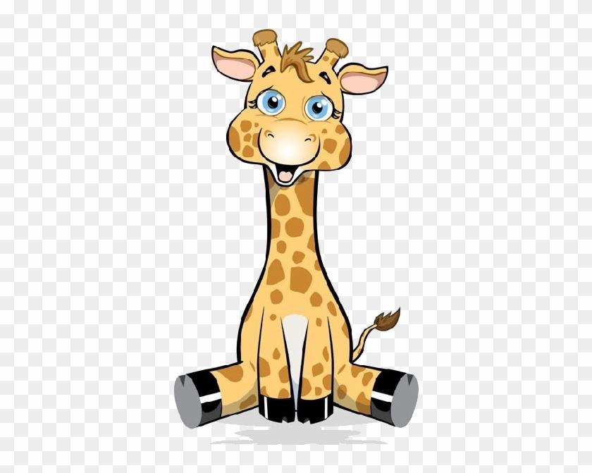 Cute Baby Giraffe Cartoon Images - Baby Giraffe Cartoon #19238