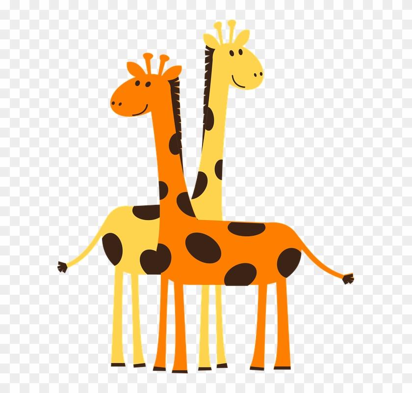 Giraffes Clip Art At Clker - Giraffe Clipart #19243