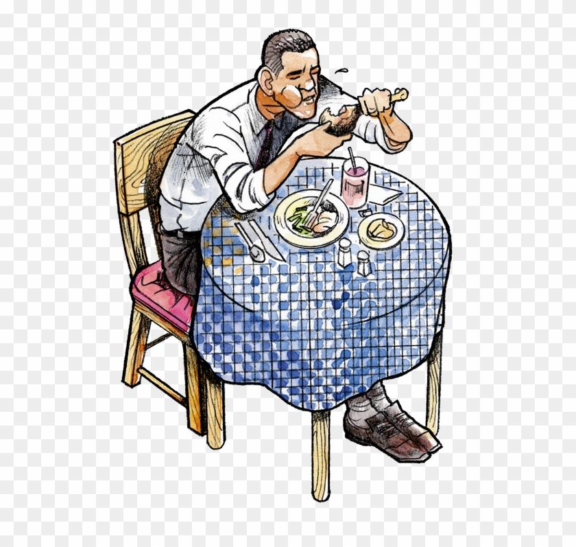 Macarthur's Restaurant 5412 W - Cartoon #19284