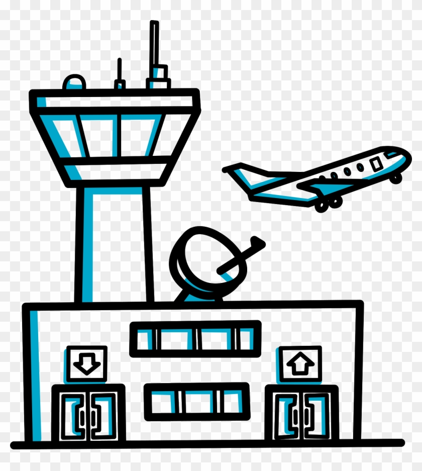 building videoscribe clip art cartoon airport free