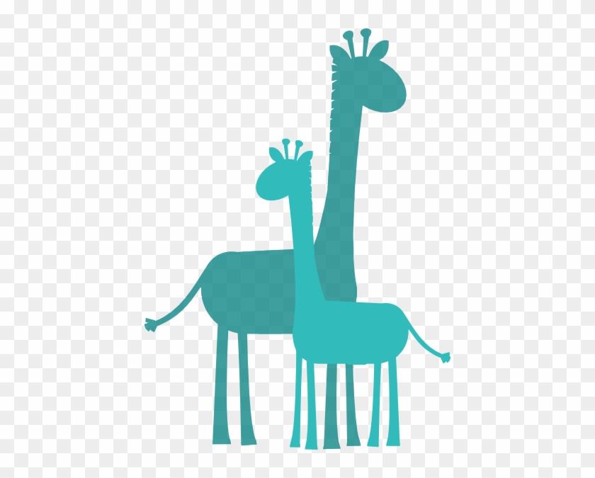 Baby Shower Giraffe Clip Art #19296