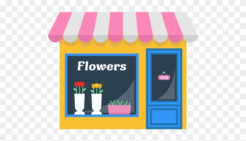 Size - Flower Shop Png #19314