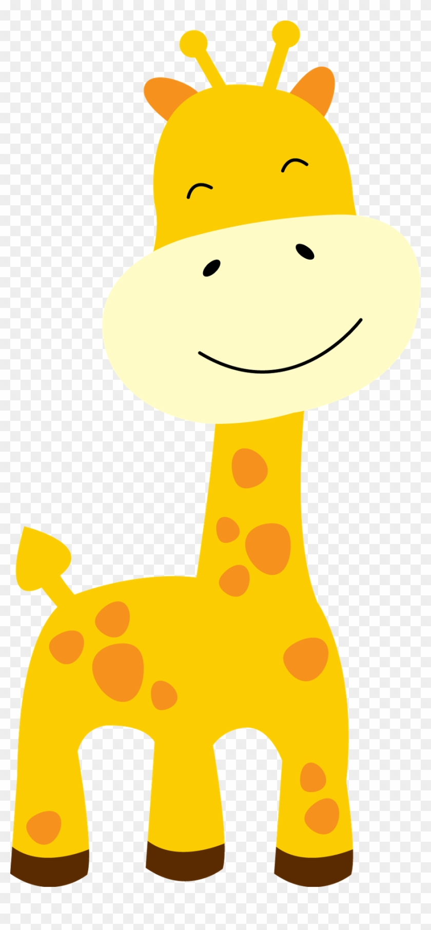 Giraffe Clipart Baby Shower Giraffe - Baby Giraffe Clipart #19324