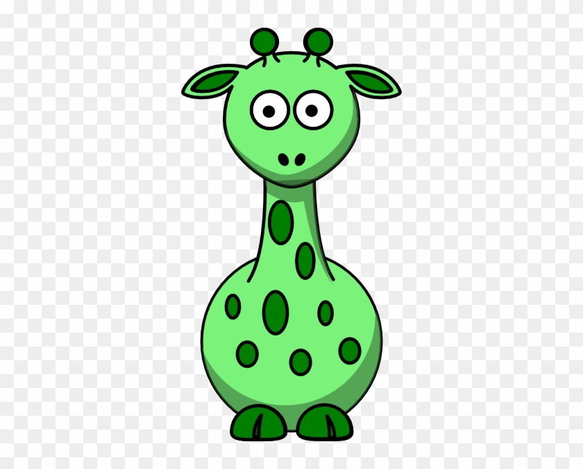 Green Giraffe With 12 Dots Clip Art - Edmond Memorial High School #19329
