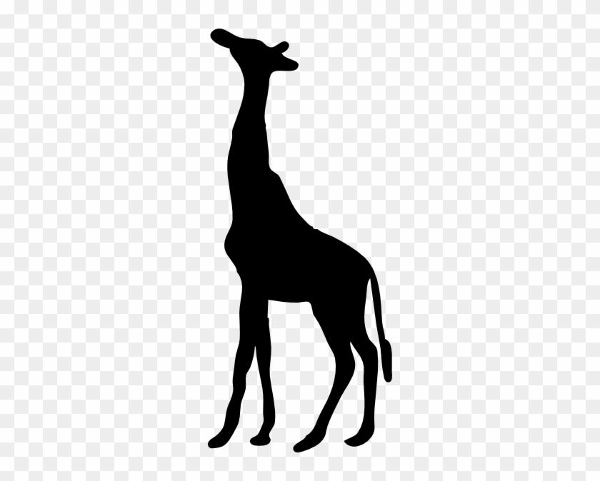 Elephant Stencil Patterns - Giraffe Silhouette Png #19333