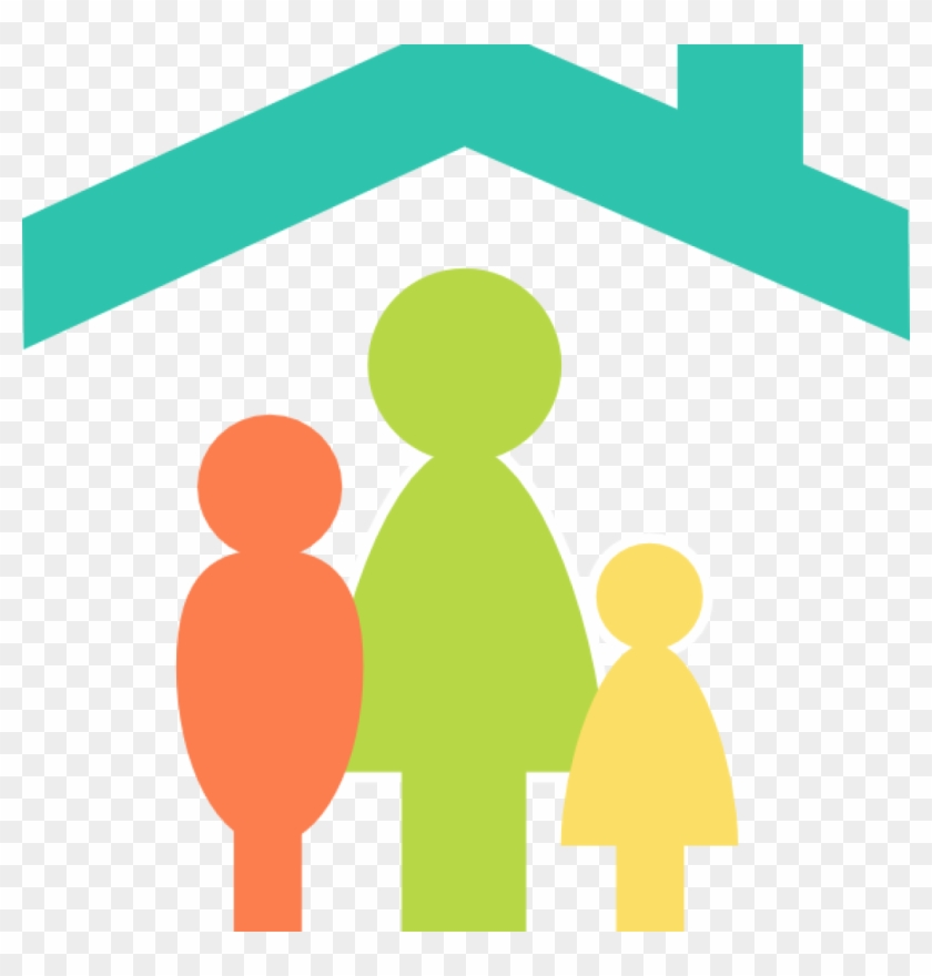 Family Clipart Family Home Clip Art At Clker Vector - Family Home Clipart #19351