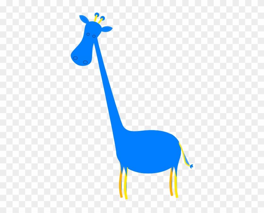 Blue Giraffe #19425