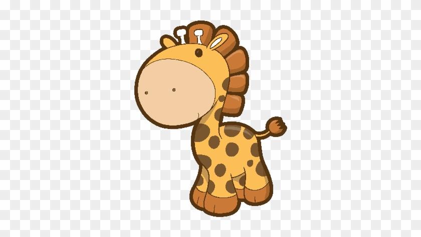 Giraffe Clipart - Vector Baby Giraffe #19472