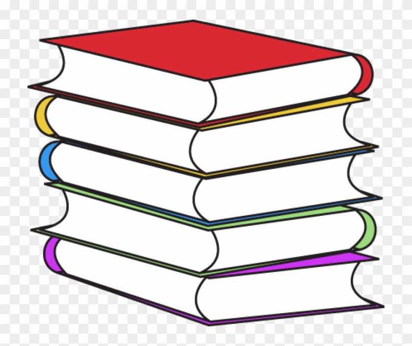 Stack Of Books - Book Clipart #19480
