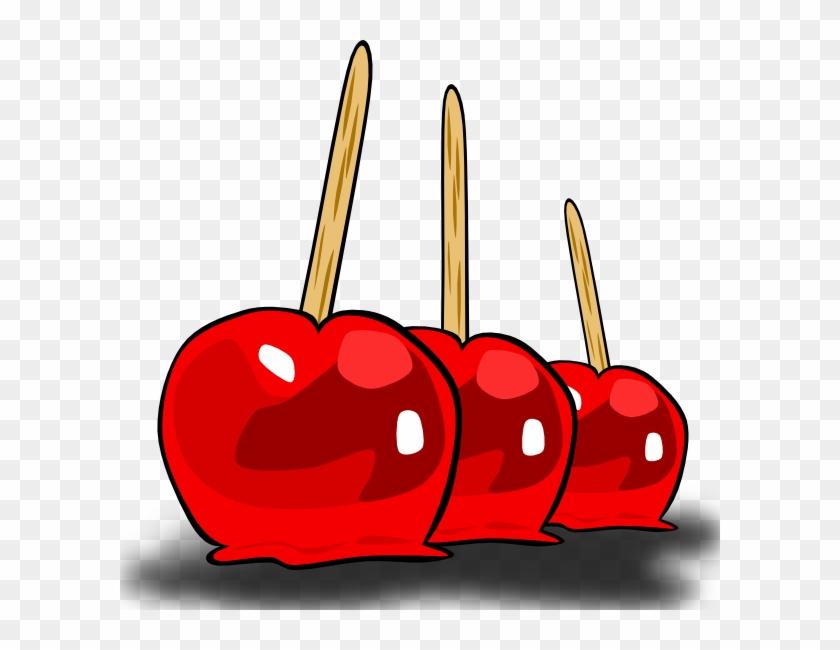 Apple Cider Clipart - Candy Apple Clip Art #19486