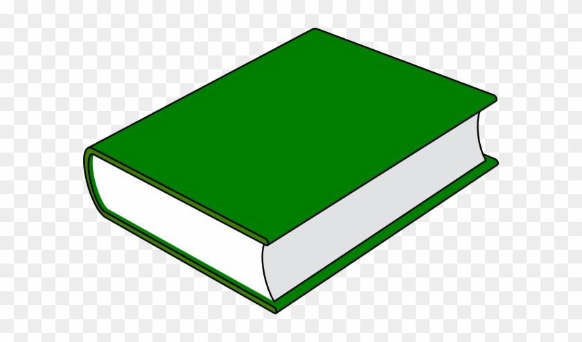 Clip Art Book Green #19495