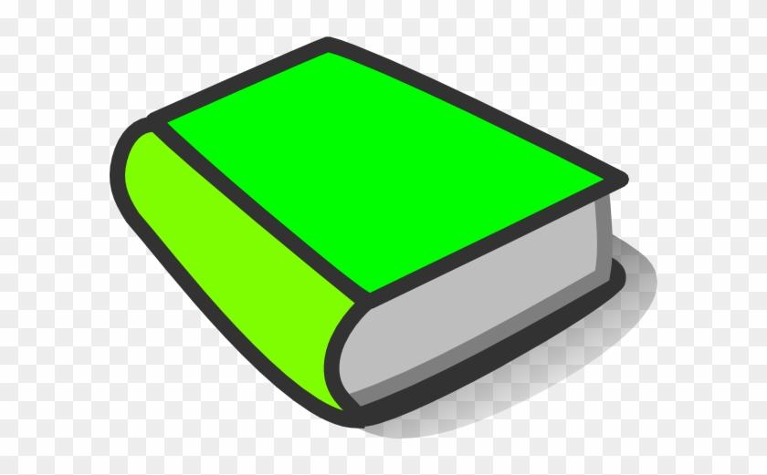 Book Clip Art Green #19505