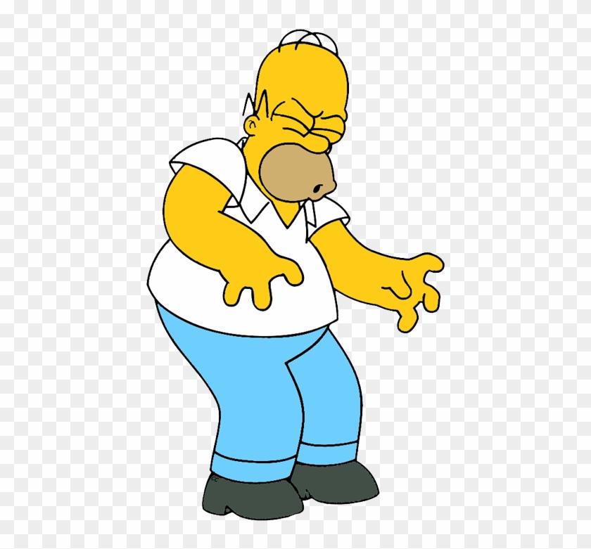 Simpson Family Simpson Family Homer - Homer Clipart #19544