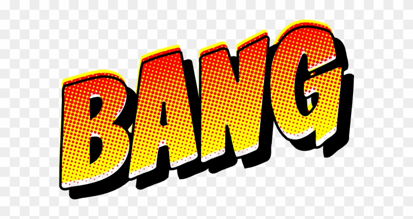 Comic Book Bang Clip Art At Clker Com Vector Online - Comic Png #19588