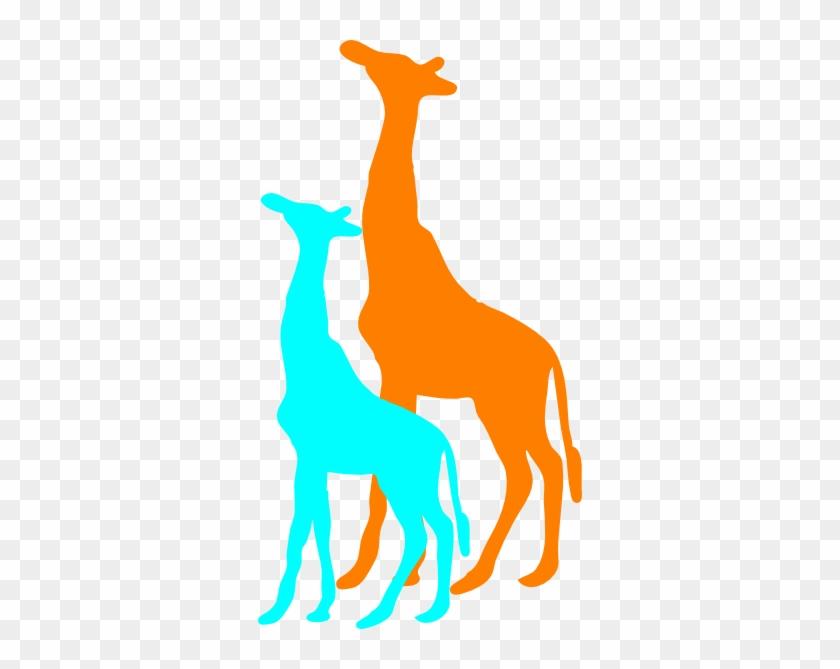 African Giraffe Silhouette #19601