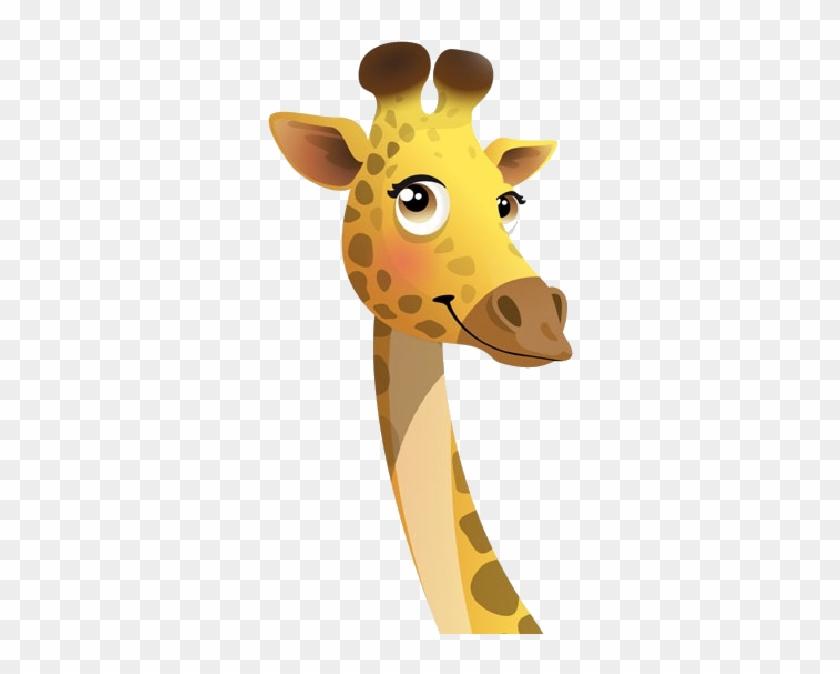 Cartoon Giraffe Pictures - Giraffe Clipart #19607