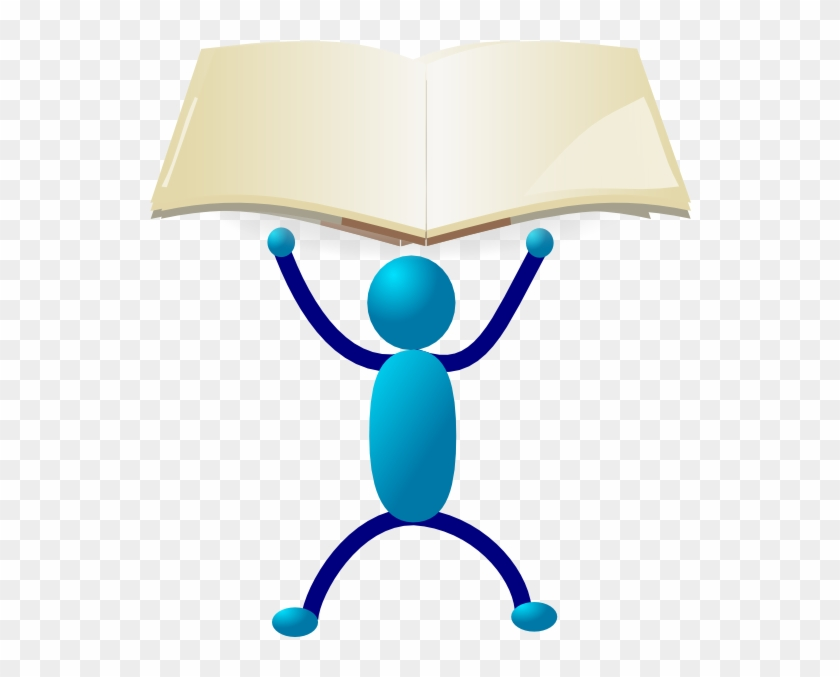 Hold Up The Book Clip Art - Holding Up Clipart #19658
