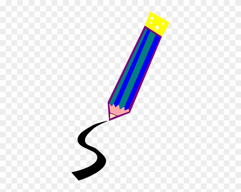 Pencil Drawing A Line Clip Art - Pencil Drawing A Line #19661