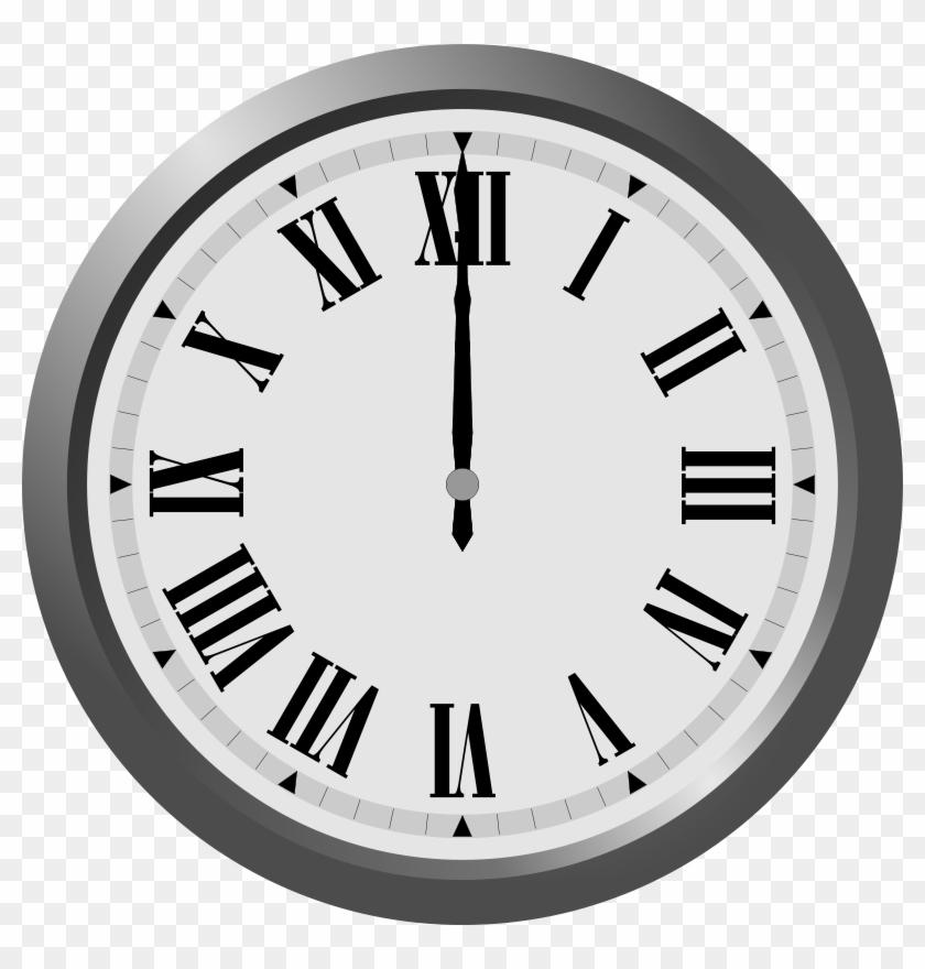 Clip Art Clock Clipart Image - Roman Numerals In Everyday Life #19664