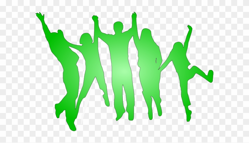 Green People Clipart #19675