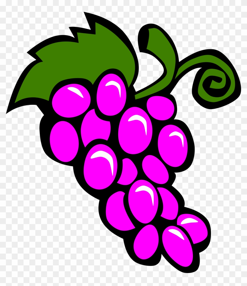 Illustration Of A Bunch Of Grapes - Grapes Clip Art #19683